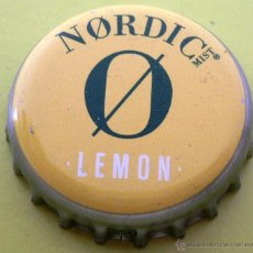 Collectionnisme de Coca-Cola et Pepsi: CHAPA REFRESCO NORDIC LEMON -SPAIN- KRONKORKEN TAPPI FABRICANTE -TCI-. Lote 241328755