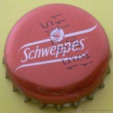 Coleccionismo de Coca-Cola y Pepsi: CHAPA REFRESCO SCHWEPPES -SPAIN- KRONKORKEN TAPPI . Lote 133875102