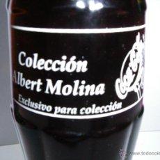 Coleccionismo de Coca-Cola y Pepsi: COCA COLA - BOTELLA ORIGINAL DE COLECCIÓN ALBERT MOLINA - EXCLUSIVO COLECCIONISMO - 2002. Lote 46621911