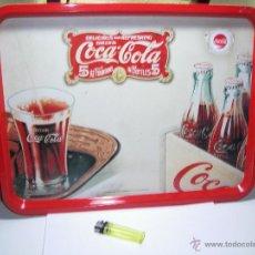Coleccionismo de Coca-Cola y Pepsi: COCA COLA - BANDEJA METÁLICA VINTAGE CON ASAS INTEGRADAS - 47X34 CM. Lote 46627359