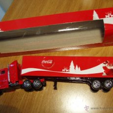 Coleccionismo de Coca-Cola y Pepsi: CAMIÓN ARTICULADO COCA-COLA. Lote 46792799