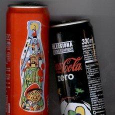 Coleccionismo de Coca-Cola y Pepsi: ** COCA-COLA ** - EDICIÓN LIMITADA: CASTELLERS Y MUNDIAL BRASIL. Lote 46990836