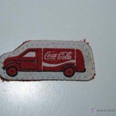 Coleccionismo de Coca-Cola y Pepsi: EMBLEMA COCA COLA DE TELA. Lote 47034567