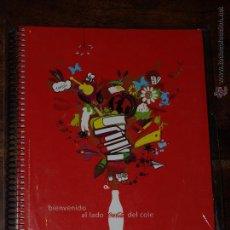 Coleccionismo de Coca-Cola y Pepsi: LIBRETA DE COCA COLA TAMAÑO FOLIO O DIN A 4. NUEVA SIN USAR. VER FOTOS PARA VER DETALLES.. Lote 47037986