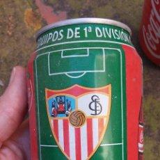 Coleccionismo de Coca-Cola y Pepsi: LATA COCA-COLA EQUIPOS 1º DIVISIÓN LIGA 96-97- SEVILLA. Lote 47041582