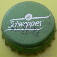 Coleccionismo de Coca-Cola y Pepsi: CHAPA REFRESCO SCHWEPPES -SPAIN-, KRONKORKEN TAPPI . Lote 133875023