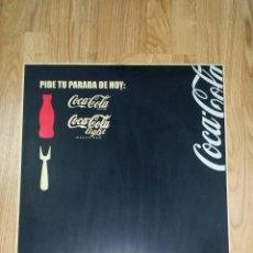 Coleccionismo de Coca-Cola y Pepsi: PIZARRA DE COCA COLA. TAMAÑO 50X70 CM. Lote 47441295