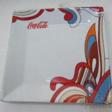Coleccionismo de Coca-Cola y Pepsi: BANDEJA DE PORCELANA O CERAMICA - COCA COLA - 21X21 -. Lote 47537421