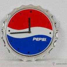 Coleccionismo de Coca-Cola y Pepsi: RELOJ PEPSICOLA PEPSI COLA. Lote 47952049
