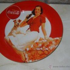 Coleccionismo de Coca-Cola y Pepsi: COCA - COLA.PLATO PUBLICITARIO DE PORCELANA COCA COLA,23 CM.. Lote 48099027