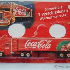 Coleccionismo de Coca-Cola y Pepsi: CAMION COCA COLA TRAILER MOTIVO NAVIDAD EN BLISTER SIN ABRIR. Lote 48215552
