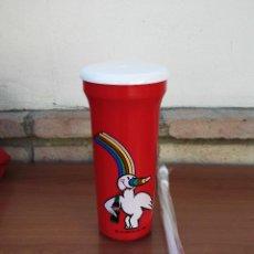 Coleccionismo de Coca-Cola y Pepsi: VASO EXPO 92 CURRO,LA CARTUJA,SEVILLA,NUEVO A ESTRENAR. Lote 82852823