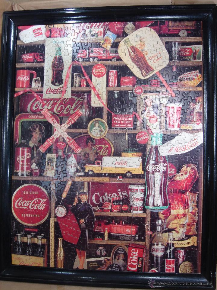 puzzle vintage - coca-cola enmarcado 60x40 cms - Comprar ...
