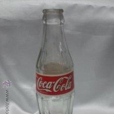 Coleccionismo de Coca-Cola y Pepsi: BOTELLA BOTELLIN CRISTAL COCA COLA COCACOLA 20 CL. ETIQUETA PAPEL. Lote 48436183