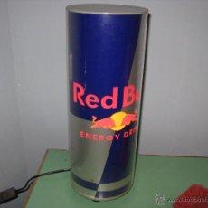 Coleccionismo de Coca-Cola y Pepsi: GRAN LUMINOSO CON FORMA DE BOTE DE RED BULL. Lote 48609408