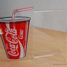 Coleccionismo de Coca-Cola y Pepsi: PORTAMENU COCA COLA COKE AÑOS 80/90. Lote 48870924
