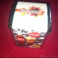 Coleccionismo de Coca-Cola y Pepsi: SERVILLETERO COCA COLA - MARTINI - CHISPAZO. Lote 48975683