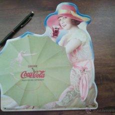 Coleccionismo de Coca-Cola y Pepsi: CARTEL CHAPA COCA COLA.. Lote 49083187