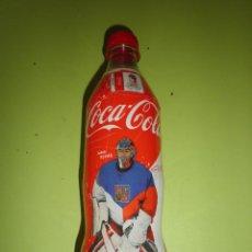 Coleccionismo de Coca-Cola y Pepsi: BOTELLA COCA COLA REPÚBLICA CHECA 500 ML VACÍA CAMPEONATO MUNDIAL HOCKEY SOBRE HIELO PRAGA COCACOLA. Lote 49181102