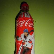 Coleccionismo de Coca-Cola y Pepsi: BOTELLA COCA COLA REPÚBLICA CHECA 500 ML VACÍA CAMPEONATO MUNDIAL HOCKEY SOBRE HIELO PRAGA COCACOLA. Lote 49181162