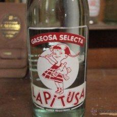 Coleccionismo de Coca-Cola y Pepsi: BOTELLA GASEOSA LA PITUSA, LLENA -REF3500-. Lote 49203594