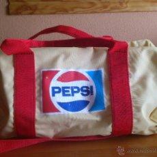 Coleccionismo de Coca-Cola y Pepsi: BOLSA MOCHILA PEPSI AÑOS 70. Lote 49476853