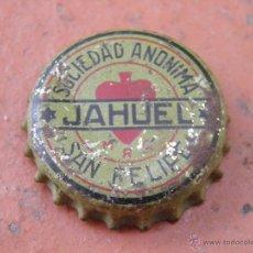 Coleccionismo de Coca-Cola y Pepsi: ANTIGUA CHAPA CORCHO AGUA JAHUEL. CHILE. AÑOS 20. MUY RARA.---LOTE N. 1249---CARMANJO. Lote 49563608