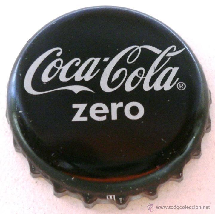 Chapa refresco coca cola zero nuevo dise o comprar - Chapa coca cola pared ...