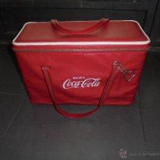 Coleccionismo de Coca-Cola y Pepsi: (M) ANTIGUA NEVERA AÑOS 60 CON SU ABRIDOR . DE VIAJE . - 41,5X18 CM. 27 CM. ALTURA . Lote 50039765