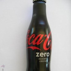 Coleccionismo de Coca-Cola y Pepsi: 2 BOTELLAS ALUMINIO COCA COLA ZERO LLENAS. Lote 50215761