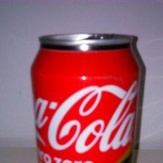 Coleccionismo de Coca-Cola y Pepsi: LATA VACÍA DE COCA-COLA ZERO SIN CAFEINA 33 CL.. Lote 50528387