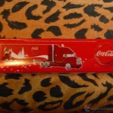 Coleccionismo de Coca-Cola y Pepsi: 2 CAMIONES DIFERENTES PROMOCIÓN NAVIDEÑA COCA-COLA.NUEVOS EN SU CAJA SIN ABRIR. Lote 50529136