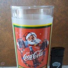Coleccionismo de Coca-Cola y Pepsi: ANTIGUO VASO BEBA COCA COLA PAPA NOEL IMPECABLE ESTADO ESPECIAL COLECCION. Lote 50860503