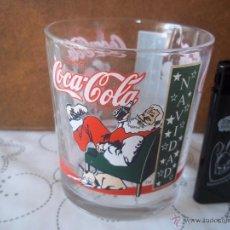 Coleccionismo de Coca-Cola y Pepsi: ANTIGUO Y DIFICIL VASO COCA COLA NAVIDAD IMPECABLE ESTADO ESPECIAL COLECCIONISTAS. Lote 50863971