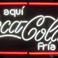 Coleccionismo de Coca-Cola y Pepsi: CARTEL LUMINOSO DE NEÓN DE LA MARCA COCA-COLA, TOTALMENTE NUEVO A ESTRENAR, IDEAL COLECCIONISTA.. Lote 51033157