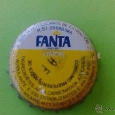 Coleccionismo de Coca-Cola y Pepsi: CHAPA FANTA LIMON / PRINCIPIO AÑOS 80 / MUY BUEN ESTADO. Lote 51168823
