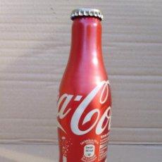 Coleccionismo de Coca-Cola y Pepsi: BOTELLA DE ALUMINIO COCACOLA 125 AÑOS SIN ABRIR. Lote 51516188