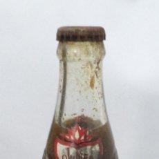 Coleccionismo de Coca-Cola y Pepsi: ANTIGUA BOTELLA DE REFRESCO JUPIÑA. LLENA. VER FOTOS. 21CM ALTO.. Lote 51554399