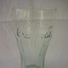 Coleccionismo de Coca-Cola y Pepsi: VASO COCA COLA CRISTAL VERDE. Lote 52277905