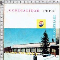 Coleccionismo de Coca-Cola y Pepsi: REVISTA CORDIALIDAD PEPSI INVIERNO 1963.. Lote 52282153