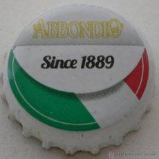 Coleccionismo de Coca-Cola y Pepsi: CHAPA REFRESCO ABBONDIO ITALY. Lote 142797813