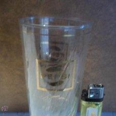 Coleccionismo de Coca-Cola y Pepsi: ANTIGUO VASO PEPSI DORADO CON ONDAS IMPECABLE ESTADO MIRAR MI OTRA CRISTALERIA. Lote 52479014