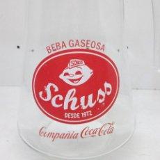 Coleccionismo de Coca-Cola y Pepsi: JARRA DE 1 LT. GASEOSA SCHUSS COMPAÑIA COCA-COLA. Lote 52518875