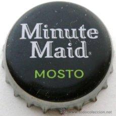 Collectionnisme de Coca-Cola et Pepsi: CHAPA REFRESCO MINUTE MAID MOSTO - SPAIN- TAPPI CROWN CAP. Lote 241326620