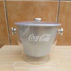 Coleccionismo de Coca-Cola y Pepsi: CUBITERA COCA-COLA EN PLASTICO - NUEVA.. Lote 199041398