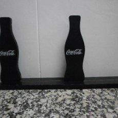Colecionismo de Coca-Cola e Pepsi: 2 EXPOSITORES CARTA COCA COLA DE MADERA. Lote 53129824