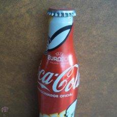 Coleccionismo de Coca-Cola y Pepsi: ANTIGUA BOTELLA METALICA ALUMINIO VACIA EURO 2012 UEFA POLAND - UKRAINE MODELO 4 OEOEOEOE. Lote 53181738