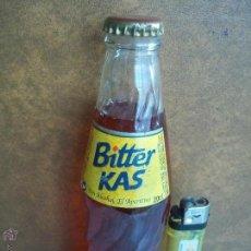 Coleccionismo de Coca-Cola y Pepsi: ANTIGUA BOTELLA BITTER KAS SIN ALCOHOL EL APERITIVO 20 CL LLENA CADUCADA 2004. Lote 53184734