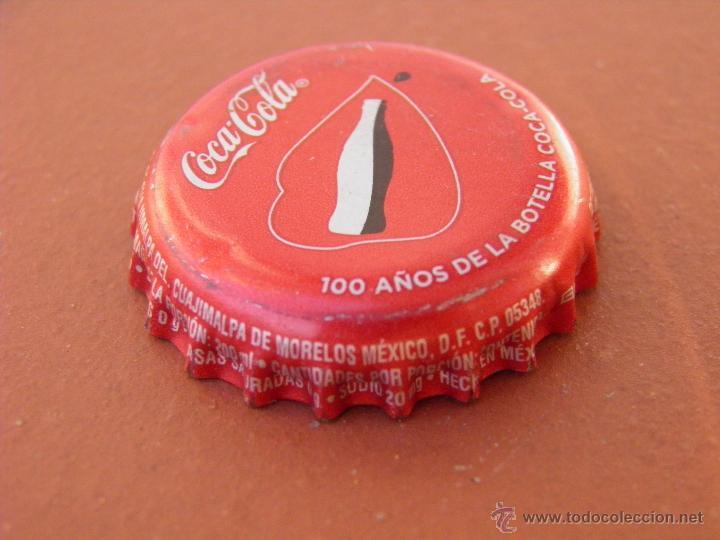 Tap n corona chapa coca cola mexico lot comprar - Chapa coca cola pared ...