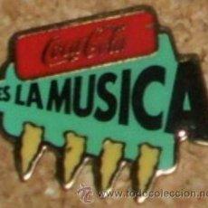 Coleccionismo de Coca-Cola y Pepsi: PIN ANTIGUO DE COCA-COLA. AÑOS 90. VINTAGE.. Lote 53277196
